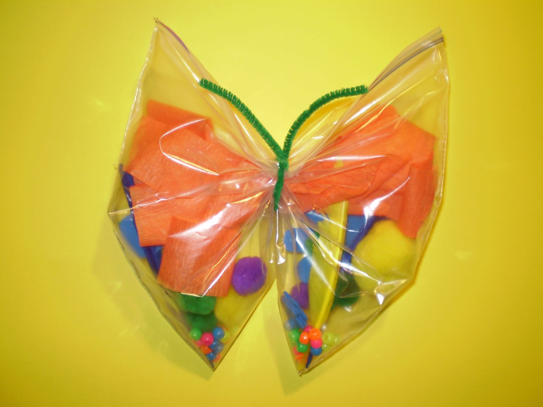 Plastic Bag  Butterflies