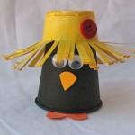 Plastic Cup Crow