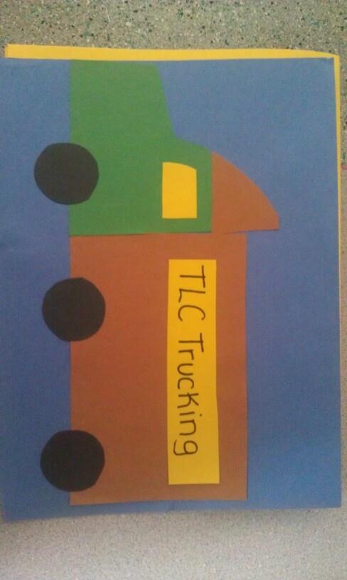 Preschool truck craft