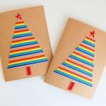 Rainbow-Ribbon-Christmas-Cards