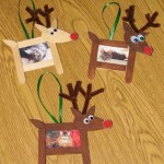 Reindeer Photo Craft