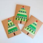 Ribbon-Christmas-Cards-Green-northstory