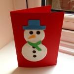 Snowman-card-homemade-snowman-card-cotton-wool-snowman-card-kids-Christmas-cards-Xmas-card-homemade-Xmas-card
