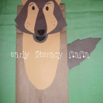 Wolf Paperbag Puppet