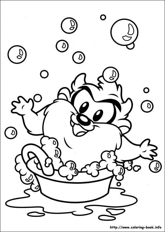 Baby Looney Tunes Coloring Pages For Free 23 Crafts And