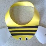 bee head banda craft