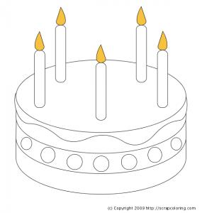 birthday_cake coloring
