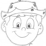 boy mask coloring page (1)
