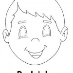 boy mask coloring page (2)