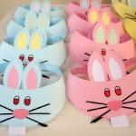 bunny headband craft