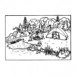 camping_with_family_coloring_pages