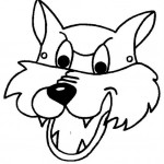 cat mask coloring page (5)