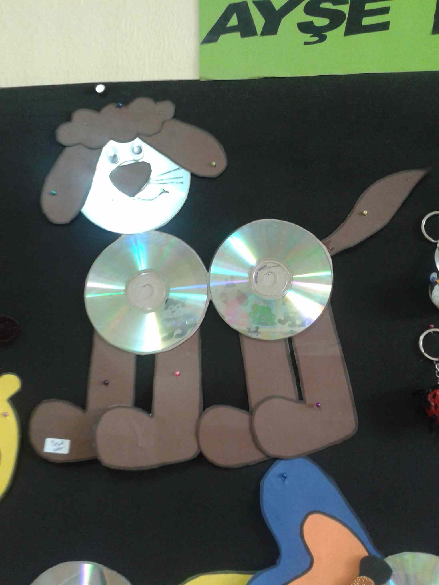 cd dog craft