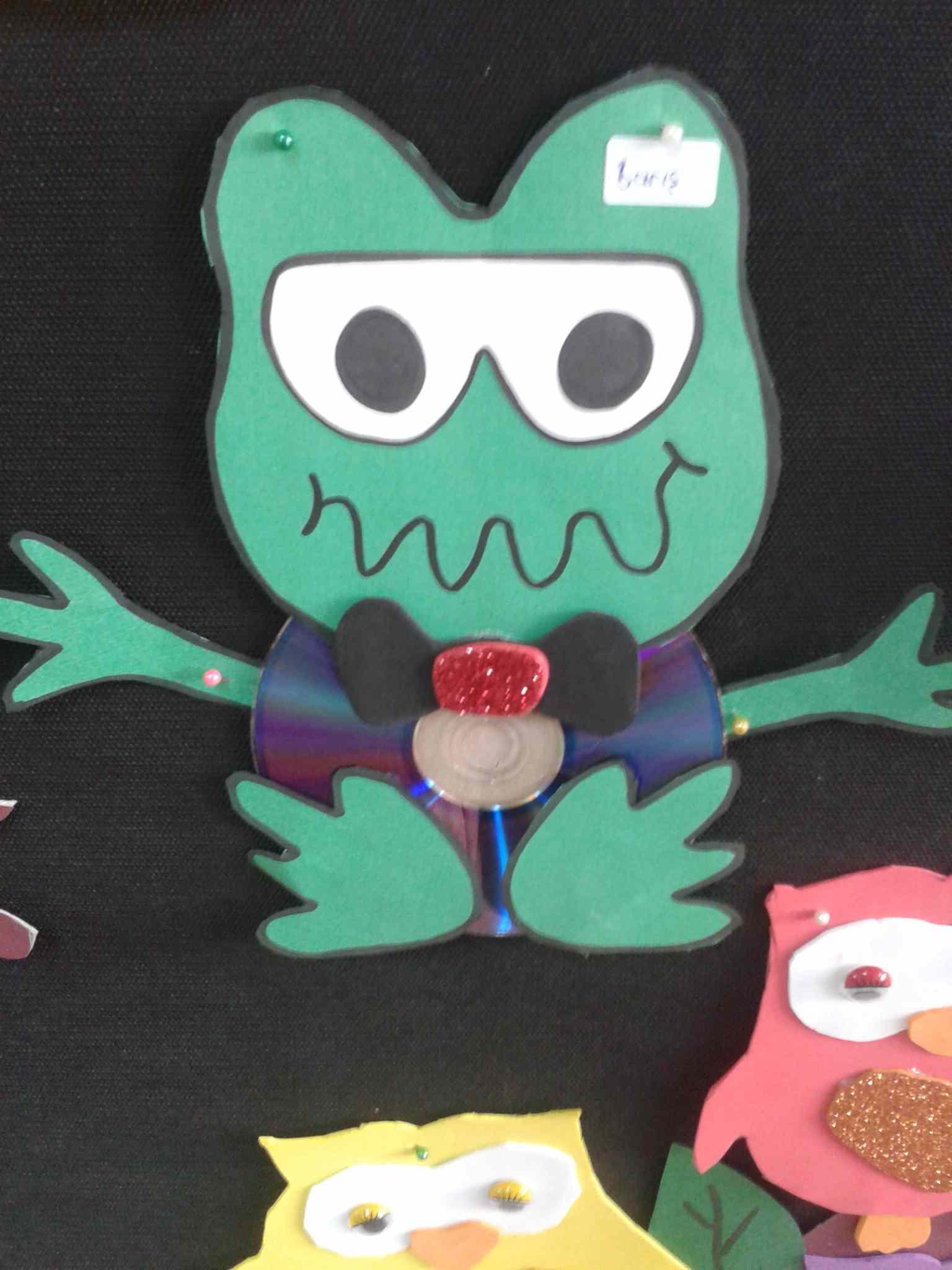 cd frog craft