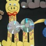 cd giraffe craft
