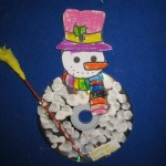 cd snowman craft