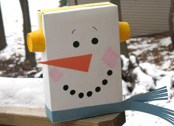 cereal-box-snowman