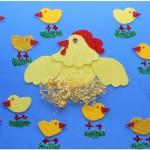 chicken and chick craft
