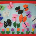 clothes pin butterfly craft