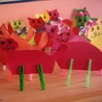 clothespin cat