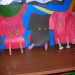 clothespin elephant