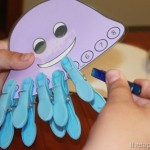 clothespin jellyfishcraft