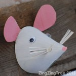 cone mouse craft