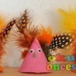 cone owl craft