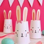 cup bunny craft