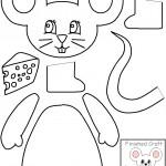cut paste mouse craft