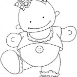 cute_baby_girl_walking_coloring_pages