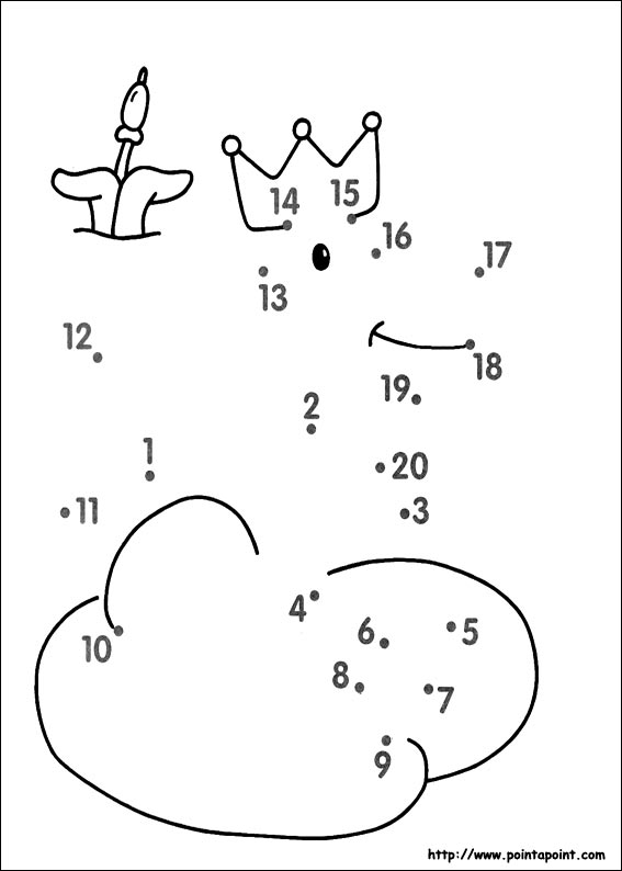 Number Names Worksheets dot to dot kindergarten : Number Names Worksheets : dot to dot for preschoolers ~ Free ...
