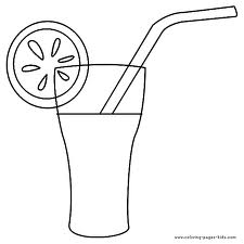 drink coloring pages