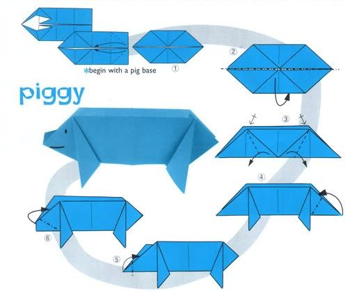 easy_origami_animals_piggy_carft_preschool