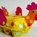 egg carton hen