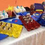 egg carton plane craft