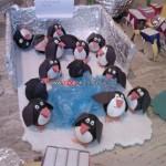 egg penguin craft