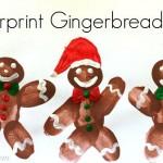 fingerprint gingerbread craft