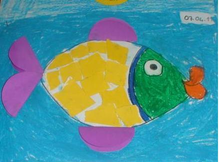 fish crafts idea for kids