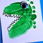 footprint alligator craft