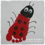 footprint ladybug