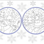 free winter coloring page(2)