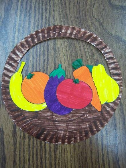 fruits bowl craft
