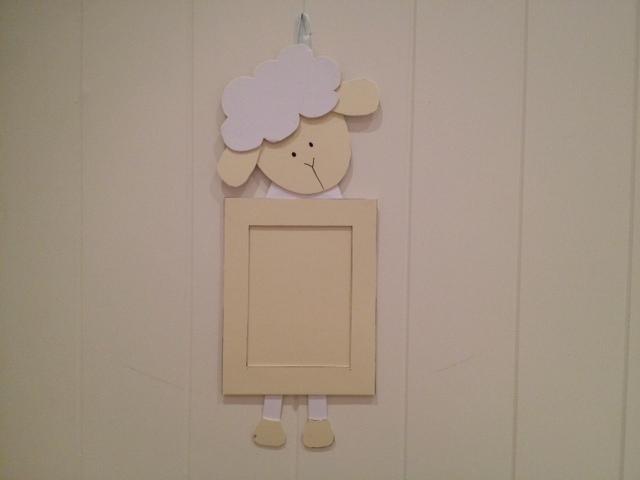 handmade-homemade-sheep-lamb-photo-frame-kids-craft1