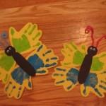 handprint butterflycraft