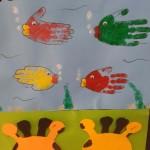 handprint fish craft
