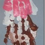 handprint ice cream craft