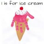 handprint icecream craft