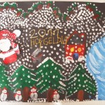 handprint winter craft