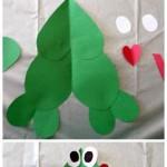 heart frog craft